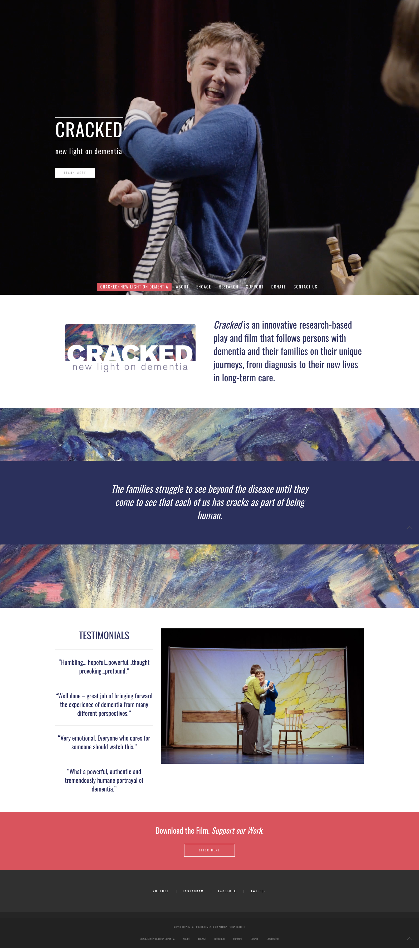 cracked homepage
